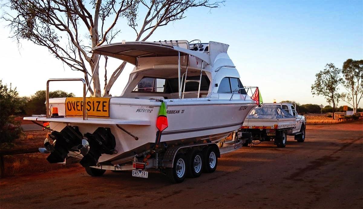 how to change registration on boat trailer